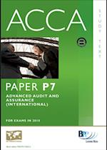 ACCA Paper P7 - Advanced Audit and Assurance (INT) Study Text