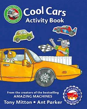 Bog, paperback Amazing Machines Cool Cars Activity Book af Tony Mitton