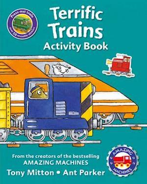 Bog, paperback Amazing Machines Terrific Trains Activity Book af Tony Mitton