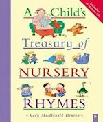 A Child's Treasury of Nursery Rhymes [With CD]