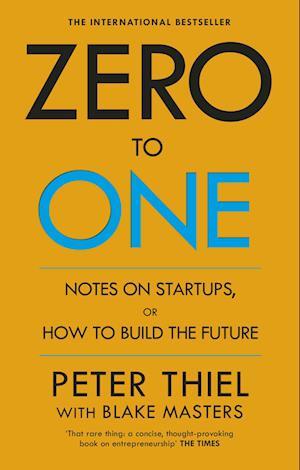 Bog, paperback Zero to One af Peter Thiel