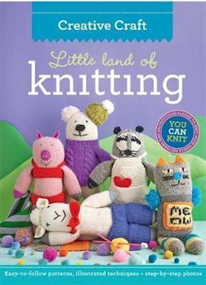Bog, paperback Little Land of Knitting