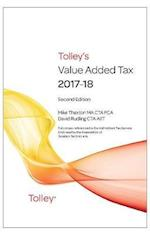 Tolley's Value Added Tax 2017-2018 (Second edition only)