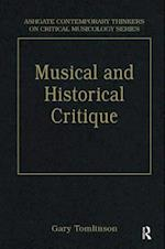 Music and Historical Critique