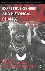 Expressive Genres and Historical Change (Anthropology and Cultural History in Asia and the Indo-Pacific)