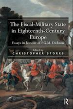 The Fiscal-Military State in Eighteenth-Century Europe af Christopher Storrs