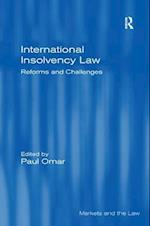 International Insolvency Law (Markets And The Law)