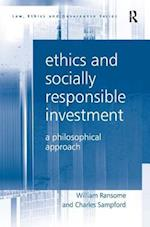 Ethics and Socially Responsible Investment af Charles Sampford, William Ransome
