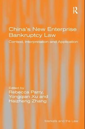 China's New Enterprise Bankruptcy Law
