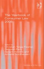 Yearbook of Consumer Law 2008 (Markets And The Law)