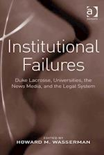 Institutional Failures