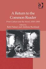 Return to the Common Reader