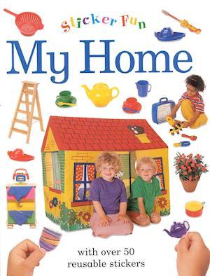 Bog, ukendt format Sticker Fun: My Home af Lorenz Books