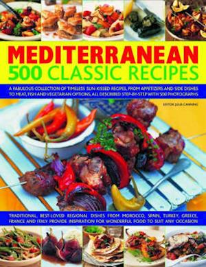 Mediterranean 500 Classic Recipes