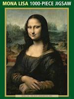 Mona Lisa 1000-Piece Jigsaw af Peony Press