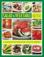Salad & Vegetable Cooking Box af Christine Ingram, Steven Wheeler