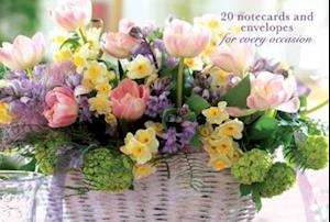 Card Box of 20 Notecards and Envelopes: Pink Tulip