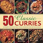 50 Classic Curries af Manisha Kanani