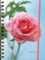 Notebook (Pink Rose) af Peony Press