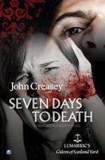 Seven Days To Death (Gideon of Scotland Yard, nr. 2)
