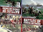 The Split History of the Battles of Lexington and Concord (Perspectives Flip Books Famous Battles)