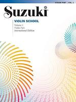 Suzuki Violin School (Suzuki Violin School, Violin Part)