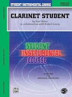 Clarinet Student (Student Instrumental Course)