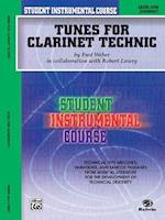 Student Instrumental Course, Tunes for Clarinet Technic, Level I af Robert Lowry