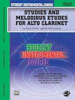Student Instrumental Course Studies and Melodious Etudes for Alto Clarinet af Neal Porter, Robert Lowry