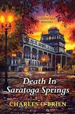 Death in Saratoga Springs (Gilded Age Mysteries Kensington)