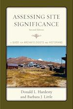 Assessing Site Significance (Heritage Resource Management Series)