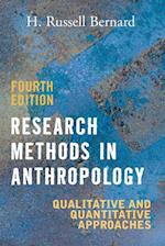 Research Methods in Anthropology af Bernard