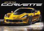 Art of the Corvette 2018 Calendar
