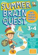 Summer Brain Quest For Adventurers Between Grades 3 & 4 (Summer Brain Quest)