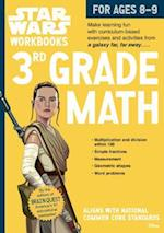 3rd Grade Math (Star Wars Workbooks)
