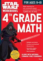 4th Grade Math for Ages 9-10 (Star Wars Workbooks)