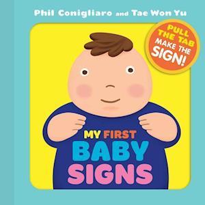 Bog, ukendt format My First Baby Signs af Phil Conigliaro
