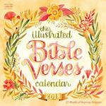 The Illustrated Bible Verses 2018 Calendar