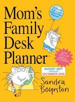 Mom's Family Desk Planner August 2017 Through December 2018