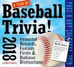 A Year of Baseball Trivia! Page-a-Day 2018 Calendar