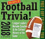 A Year of Football Trivia! 2018 Calendar