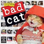 Bad Cat 2018 Calendar