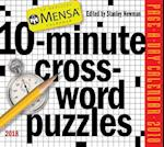 Mensa 10-Minute Crossword Puzzles 2018 Calendar