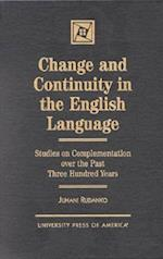 Change and Continuity in the English Language