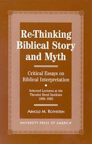 Re-thinking Biblical Story and Myth