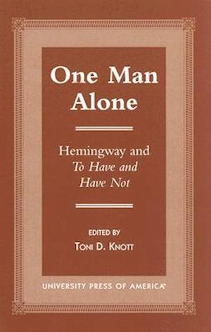One Man Alone