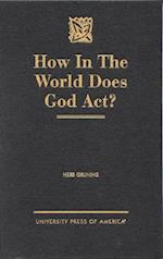 How in the World Does God Act?