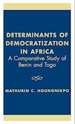 Determinants of Democratization in Africa