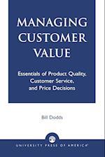 Managing Customer Value