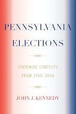 Pennsylvania Elections af John Kennedy